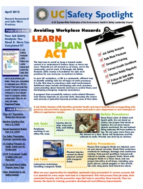 April 2012 Haz Newsletter